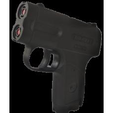 Пионер пистолет аэрозольный. Емкость магазина: 2+2 (БАМов). Дальность стрельбы: 5 (м)