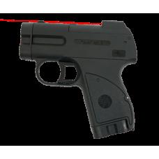 Пионер с ЛЦУ пистолет аэрозольный. Емкость магазина: 2+2 (БАМов). Дальность стрельбы: 5 (м)