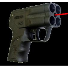 Премьер 4 с лцу пистолет аэрозольный. Емкость магазина 4 БАМ. Дальность стрельбы 5 м