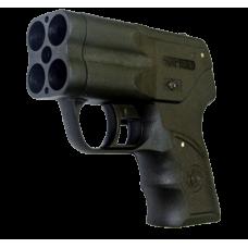 Премьер 4 пистолет аэрозольный. Емкость магазина: 4 (БАМов). Дальность стрельбы: 5 (м)